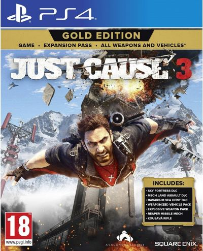 PS4 Just Cause 3 Gold Edition(R2)