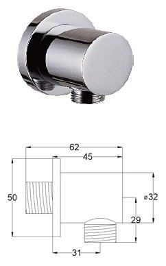 SHOWER CONNECTOR