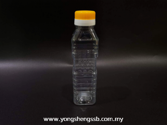 BOTTLE SQUARE 250ML (242PCS/BAG)