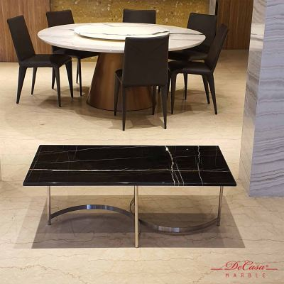 St Laurent | Rectangular Marble Coffee Table | Cash & Carry