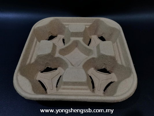 PAPER DRINK TRAY - 4 CUP (300PCS/CTN)
