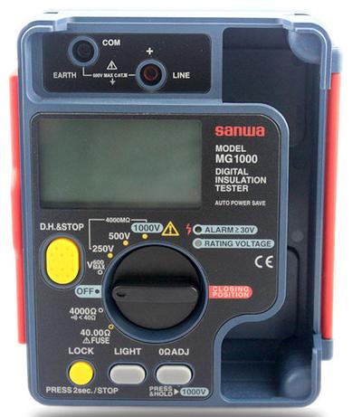 SANWA MG1000 Measure insulation resistance