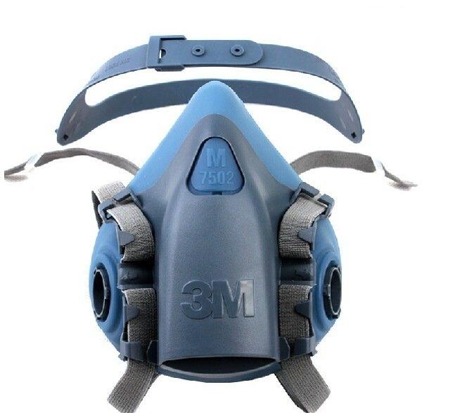 3M Half Face piece Reusable Respirator 7502