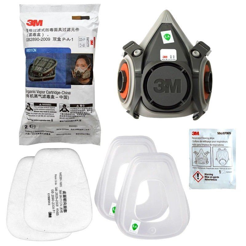 3M 6200 Face respirator Package set