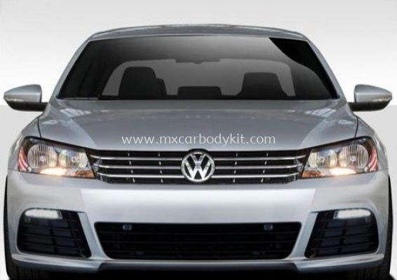 VOLKSWAGEN PASSAT B7 / B8 CONVERSION R20 FRONT BUMPER WITH DAYLIGHT