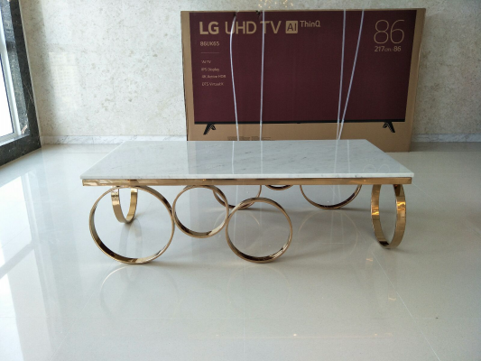 Marble Coffee Table - DeCasa116