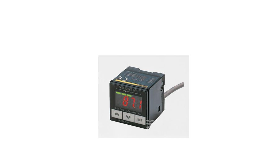 E8F2 Omron _ Pressure Sensor with Easy-to-Read LED Display