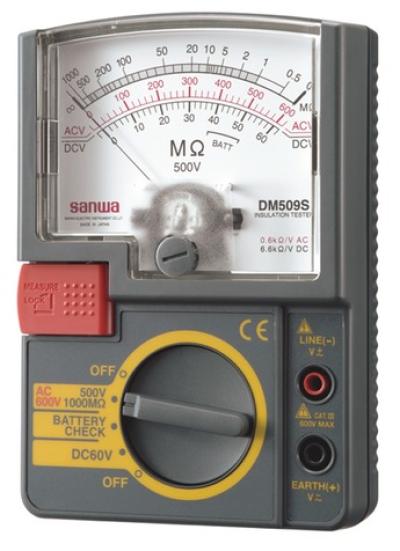 SANWA DM509S Single Test Voltage range