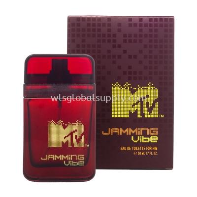 MTV MAN EDT PERFUME 50ML (Jamming Vibe)