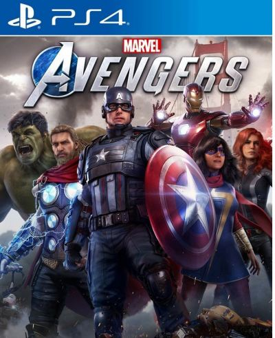 PS4 Marvel's Avengers Standard Edition(R3)English
