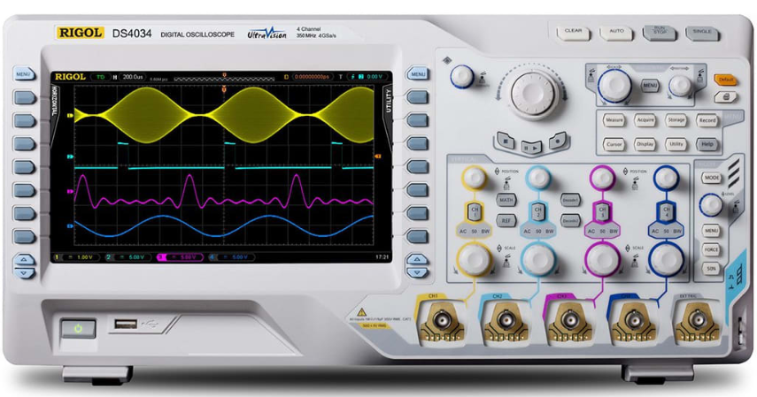 RIGOL DS4034 350MHz Digital Oscilloscope with 4 Channels