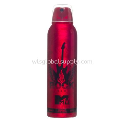 MTV WOMAN Deodorant Body Spray 200ML (Rock)