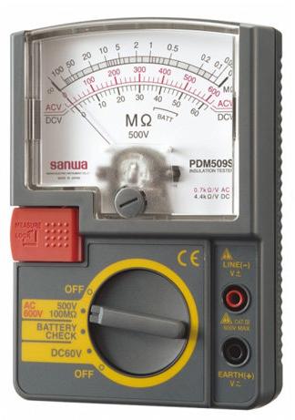 SANWA PDM509S Single Test Voltage range