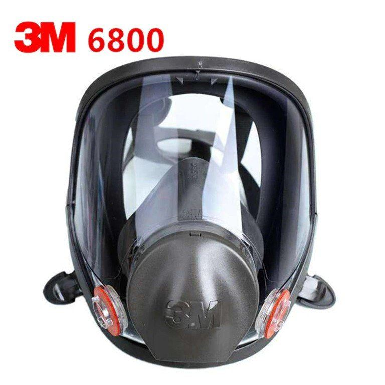 3M Full Face piece Reusable Respirator 6800