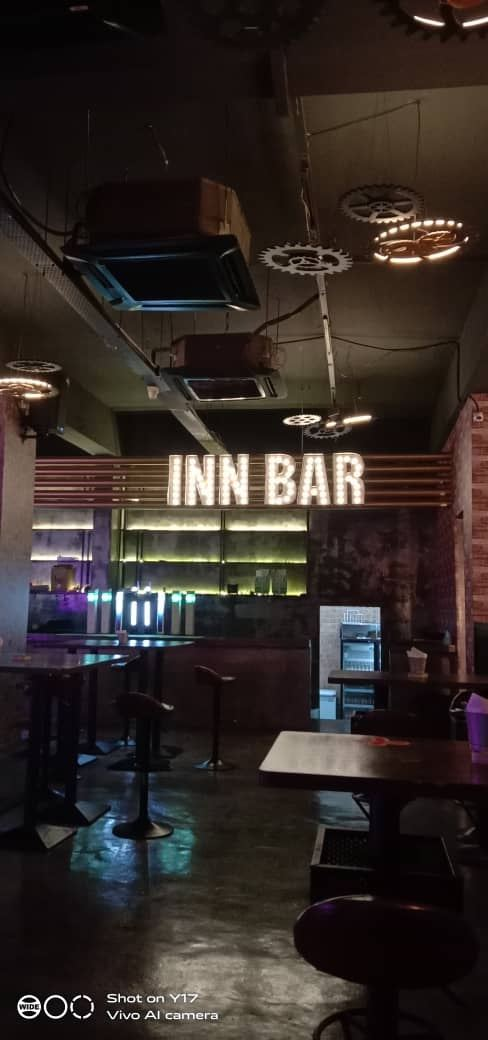 INN BAR Led bulb retro effect