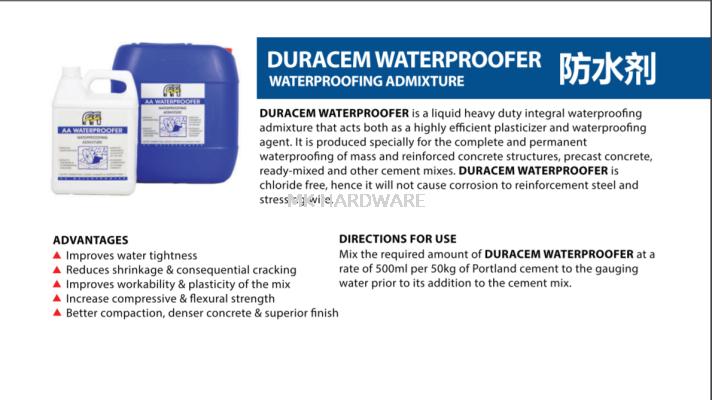 DURACEM WATERPROOFER