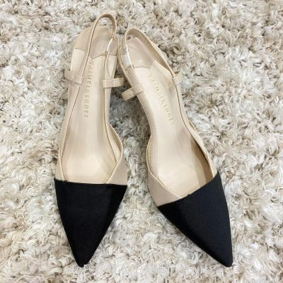 806-1 Ankle Strap Point Toe Heel
