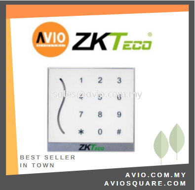 ZKTeco PROID30WM Mifare Wiegand Reader + Keypad Dual colour LED