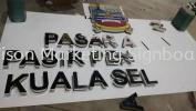 3d Boxup At Kuala Selangor  Signboard Supplier Selangor