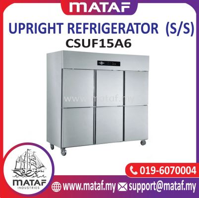 1500L Upright Refrigerator 6 Door (S/S) CSUF15A6