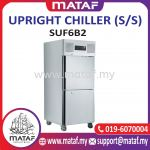 600L Upright Chiller 2 Door (S/S) SUF6B2