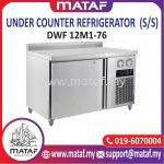 228L Under Counter Refrigerator 1 Door (S/S) DWF 12M1-76