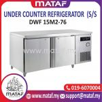 322L Under Counter Refrigerator 2 Door (S/S) DWF 15M2-76