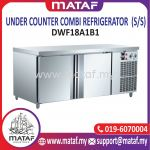 445L Under Counter Combi Refrigerator 2 Door (S/S) DWF18A1B1