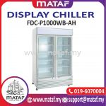 1000L Display Chiller 2 Door FDC-P1000WB-AH