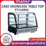 120L Cake Showcase Table Top 2 Door FT1120SC