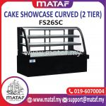 Cake Showcase Curved (2 Tier) FS26SC