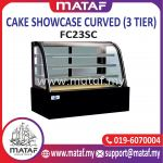 Cake Showcase Curved (3 Tier) FC34S