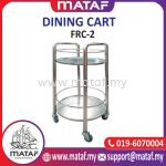 Dining Cart 2 Layer 39x32x60cm FRC-2