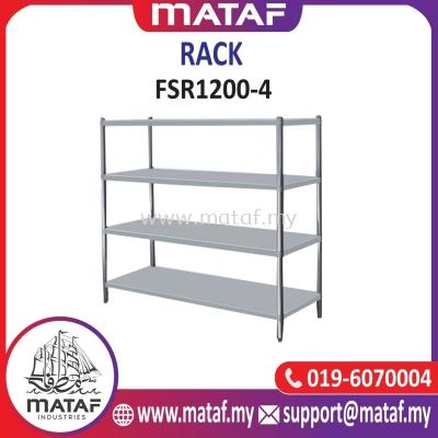Stainless Steel Rack 4 Layer 4ft FSR1200-4