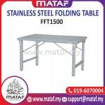 Stainless Steel Folding Table 5ft FFT1500