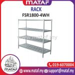 Stainless Steel Rack 4 Layer W Hole 6ft FSR1800-4WH