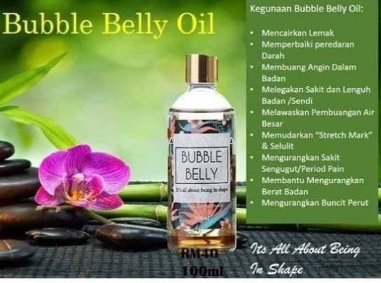Bubble Belly Oil