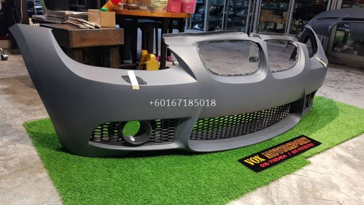 bmw e92 front bumper m3 style pp material new set