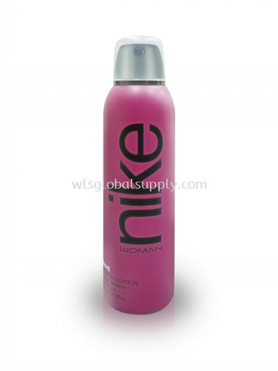 Nike Woman Colors Premium EDT DEO Natural Spray 200ml (Mauve)