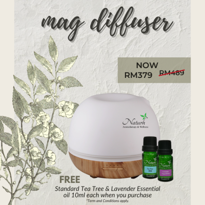 Mag Ultrasonic Diffuser Package
