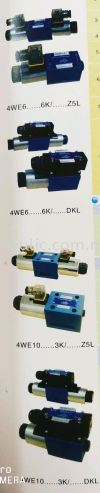 D-3 4WE SERIES SOLENOID VALVES SOLENOID OPERATED DIRECTIONAL VALVES KOMPASS HYDRAULICS