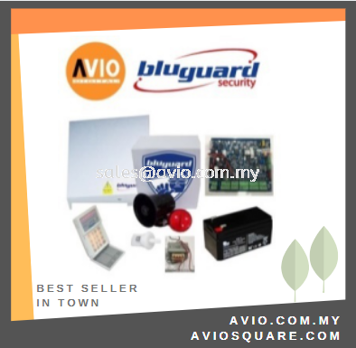 Bluguard V16N LED Package 8+1 zone Alarm Package