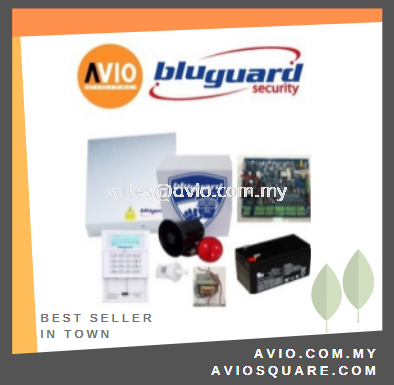 Bluguard V16N LCD Package 8+1 zone Alarm Package