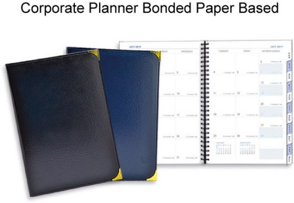 Corporate Planner Bonded Paper Based