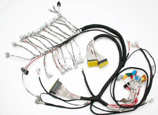 Wire harnessing