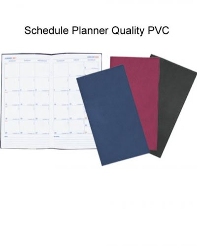 Schedule Planner Quality PVC
