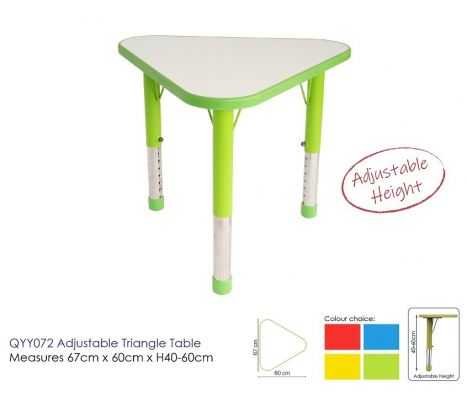 QYY072 Adjustable Triangle Table