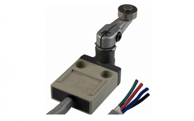 Omron D4C Omron _ ealed, Compact, and Slim-bodied Switch Offers Choice of Many Actuators