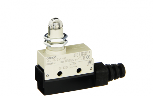 Omron SHL Omron _ Subminiature Enclosed Switch (Measuring 48 x 17.5 x 45 mm) with High Sealing Property