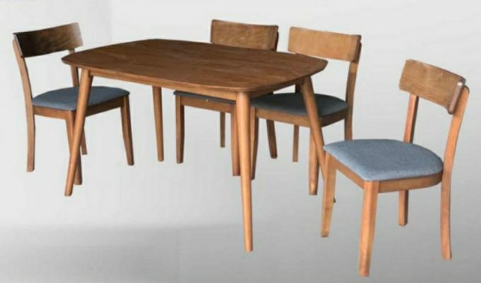 dinning table 1 plus 4
